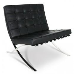 Chaise Barcelona Noir - Premium